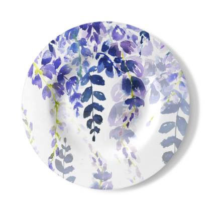 Indigo Meadow Decorative Plate
