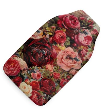 Hot Water Bottle Cover Ants n Roses