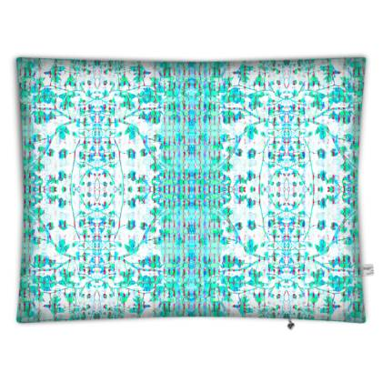 Teal Branch Floor cushion