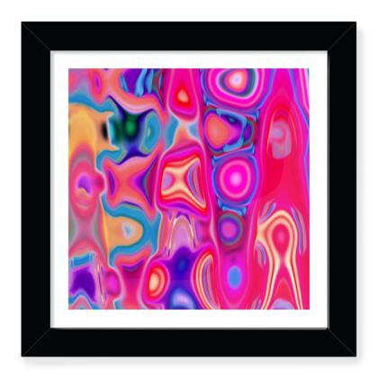 Framed Art Prints Fashion Circle 1