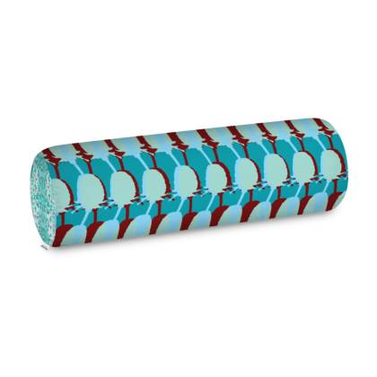 Teal Teasel Big Bolster Cushion