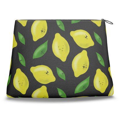 'Just Lemon Know' Clutch Bag