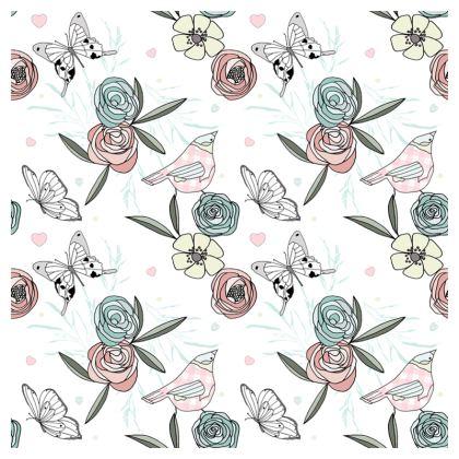 Pretty Wildflower Cushion