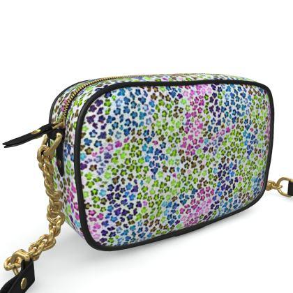 Leopard Skin Multicoloured Collection Camera Bag