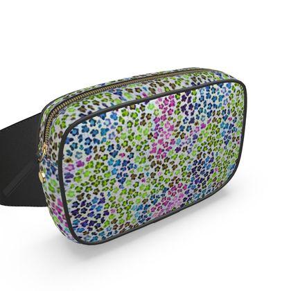 Leopard Skin Multicoloured Collection Belt Bag