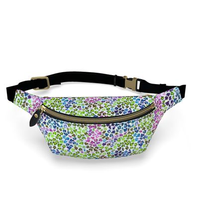 Leopard Skin Multicoloured Collection Fanny Pack