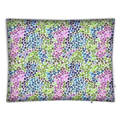 Leopard Skin Multicoloured Collection Floor Cushions