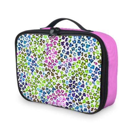 Leopard Skin Multicoloured Collection Lunch Bags
