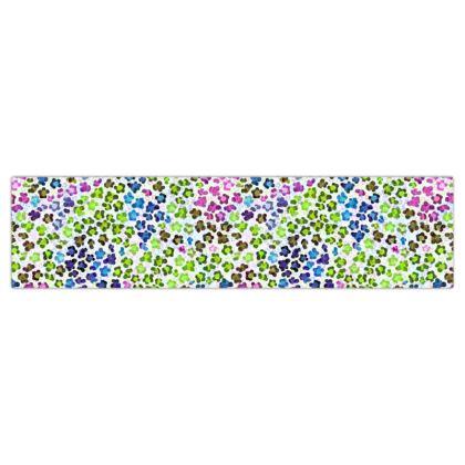 Leopard Skin Multicoloured Collection Dog Lead
