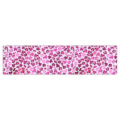 Leopard Skin in Magenta Collection Dog Lead