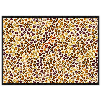 Leopard Skin Collection Mats