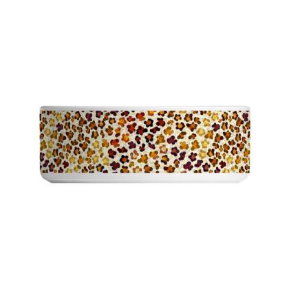 Leopard Skin Collection Ceramic Bowls