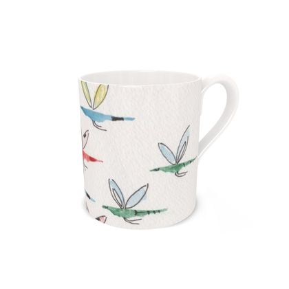 Buzzy Bird Feathered Friends of the Countryside Mug