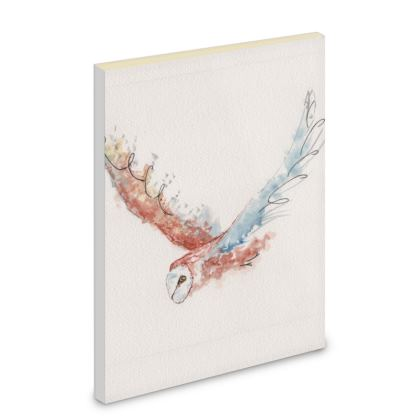 Liberty pipits feathered friends of the countryside Barn owl beauty Notebook