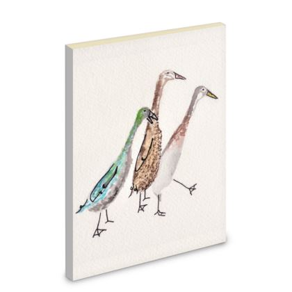 Liberty Pipits Feathered Friends of the Countryside Indecisive Runner Ducks Notebook