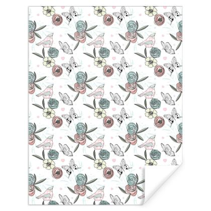 Pretty Meadow Wildflowers Gift Wrap