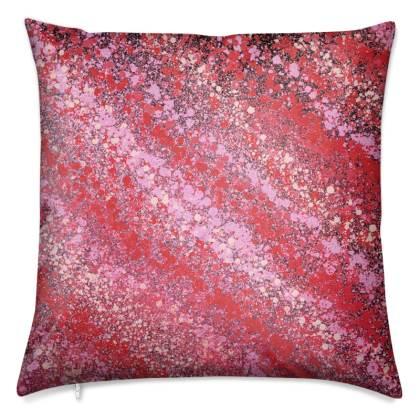 Pink Nebula 303 Luxury Cushions