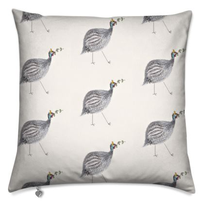 Liberty Pipits Feathered Friends of the Countryside Cushion