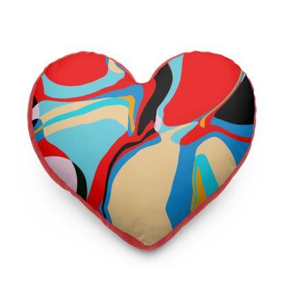 Cuzzello Red Heart Cushion