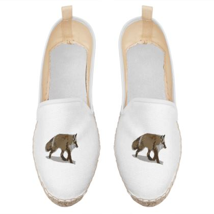 Loafer Espadrilles - Lonely Fox In The Snow