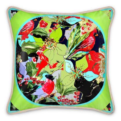 elegante cuscino in seta