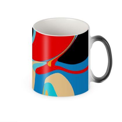 Cuzzello Red Heat Changing Mug