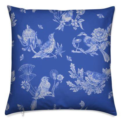 Chinoise Damask cushion cover
