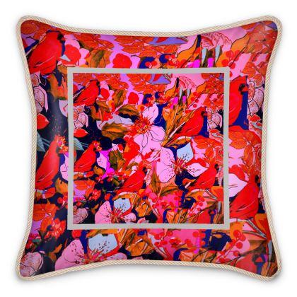 cuscino elegante in seta