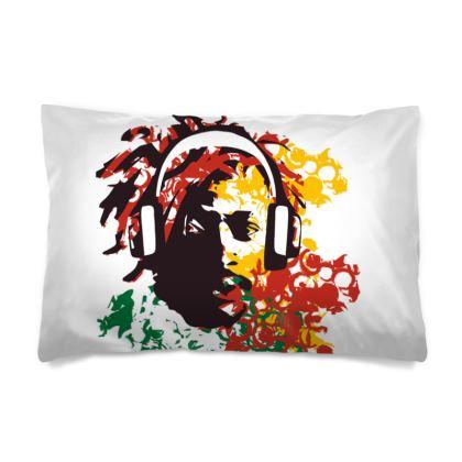 Rasta man Pillow Case
