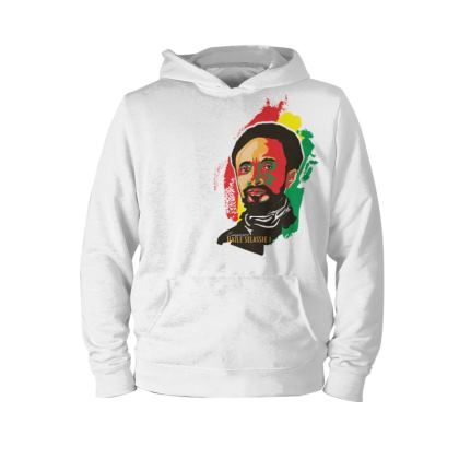Hoodie with the portrait of Emperor Haile Selassie