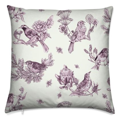 Chinoise Port cushion cover