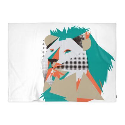 The lion of Judah blanket