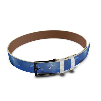 Leather Belt - Midnight Camping