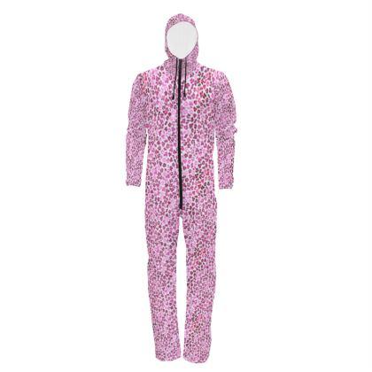 Leopard Skin in Magenta Collection Hazmat Suit