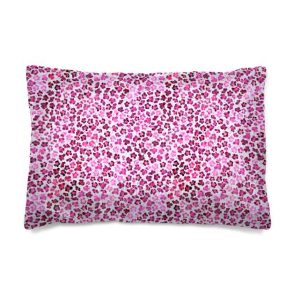 Leopard Skin in Magenta Collection Pillow Case