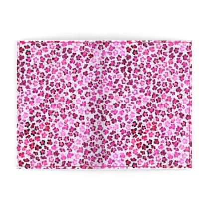 Leopard Skin in Magenta Collection Passport Cover
