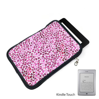 Leopard Skin in Magenta Collection Kindle Case