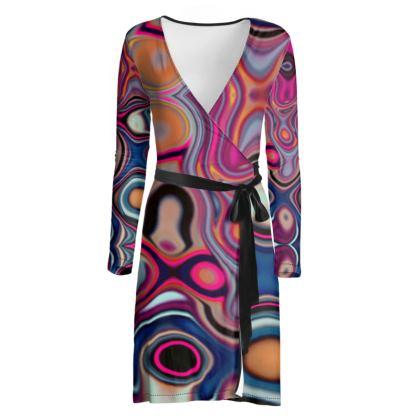 Wrap Dress Fashion Circle 2