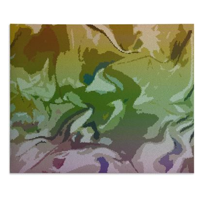 Desk Pad - Honeycomb Marble Abstract 4