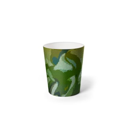 Waste Paper Bin - Honeycomb Marble Abstract 4