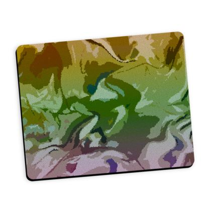 Mouse Mat - Honeycomb Marble Abstract 4