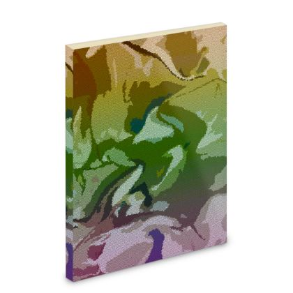 Pocket Note Book - Honeycomb Marble Abstract 4