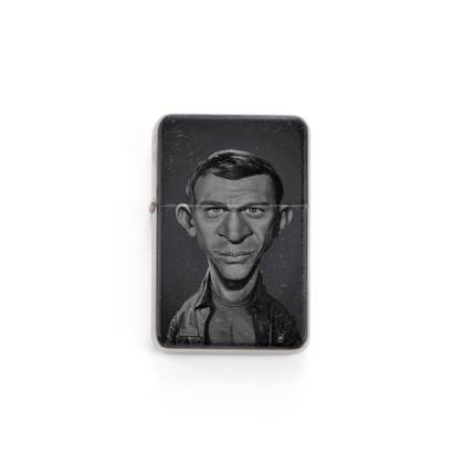 Steve McQueen Celebrity Caricature Lighter
