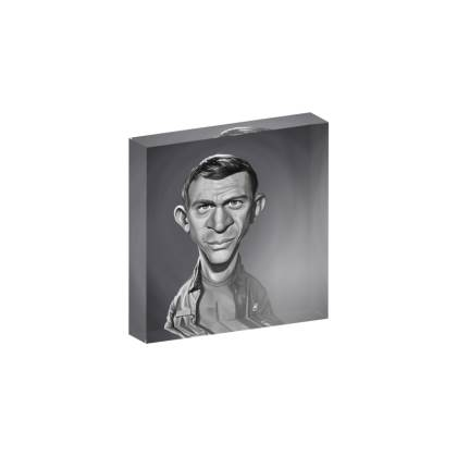 Steve McQueen Celebrity Caricature Acrylic Photo Blocks