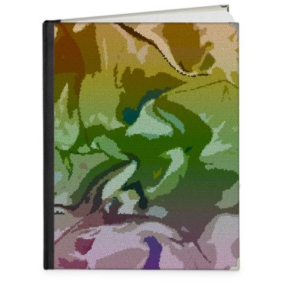 Photo Book A4 - Portrait - Honeycomb Marble Abstract 4