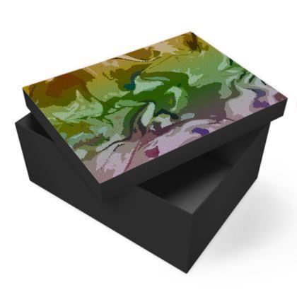 Photo Box - Honeycomb Marble Abstract 4
