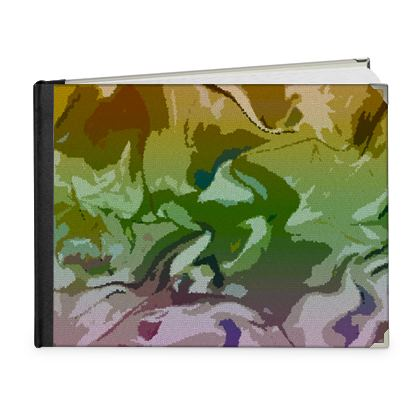 Photo Book A5 - Landscape - Honeycomb Marble Abstract 4