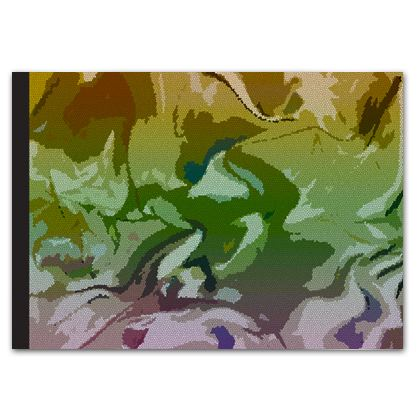 Soft Photo Book - Honeycomb Marble Abstract 4