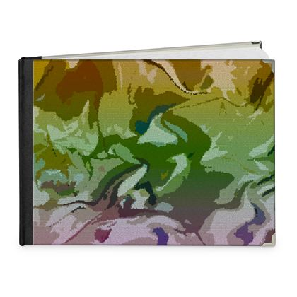 Photo Book A4 - Landscape - Honeycomb Marble Abstract 4