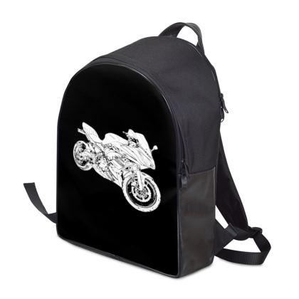 Backpack - Superbike Sketch